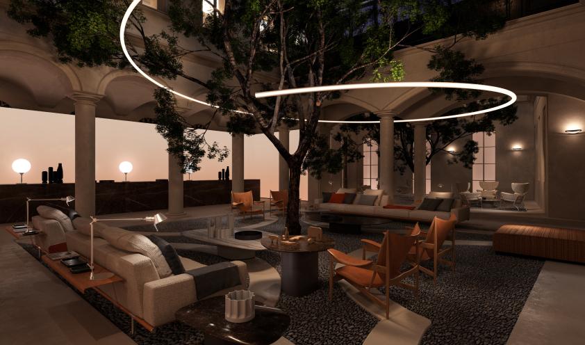 Hall Elle Decor Grand Hotel 2020