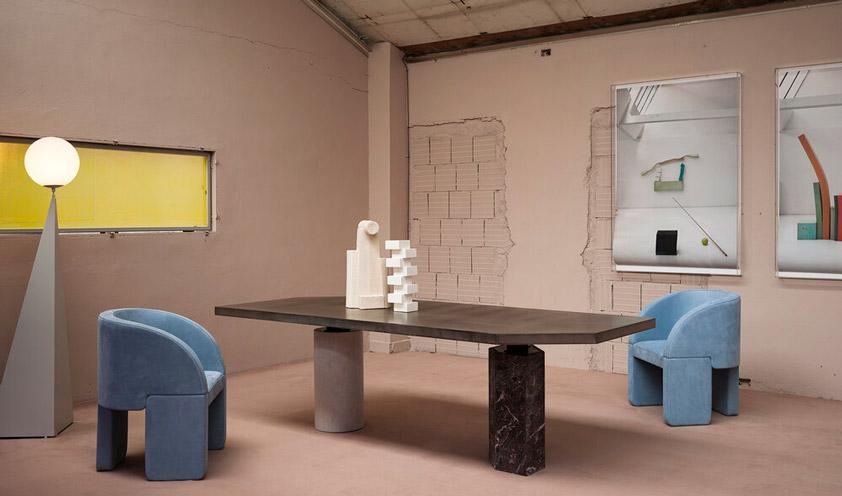 Jupiter table by Baxter
