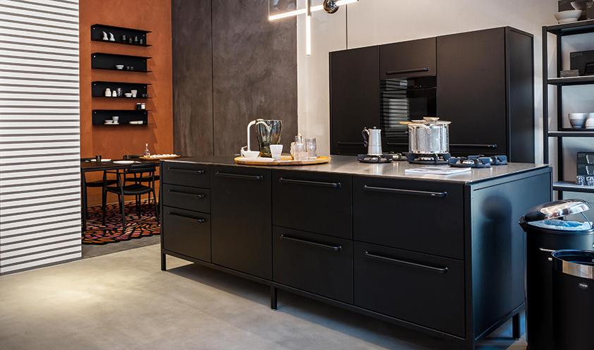 Vipp kitchen area in Mohd Milano